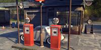 Trago Gas Station