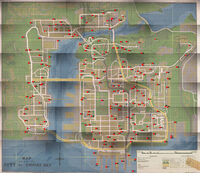 Wanted Poster Location Map