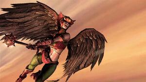 JLU Hawkgirl