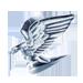 Standard 75x75 collect car bonnet eagle