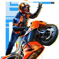 Huge item stuntbiker 01