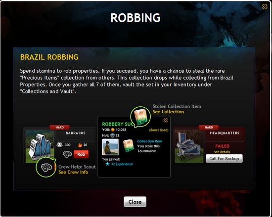 Brazil Robbing