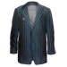 Standard 75x75 collect gangster apparel 4-button pinstriped suit