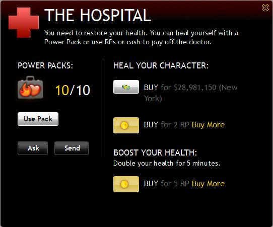 Hospitalpopup