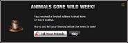 Animals Gone Wild Attack Cobra
