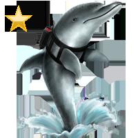 Huge item patroldolphin gold 01
