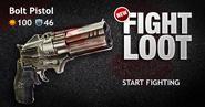 Fightloot bolt pistol promo