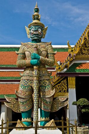 Thailand temple guardian