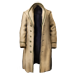 Standard 75x75 collect gangster apparel 6-button long coat