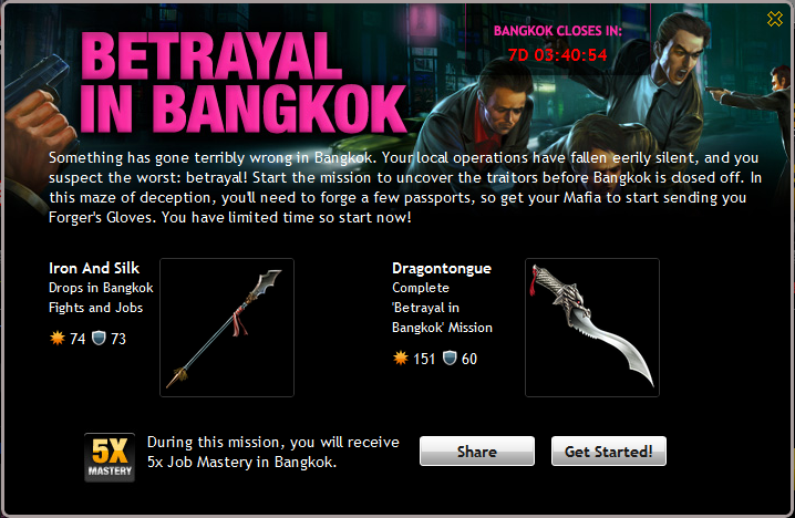 Betrayal In Bangkok Info