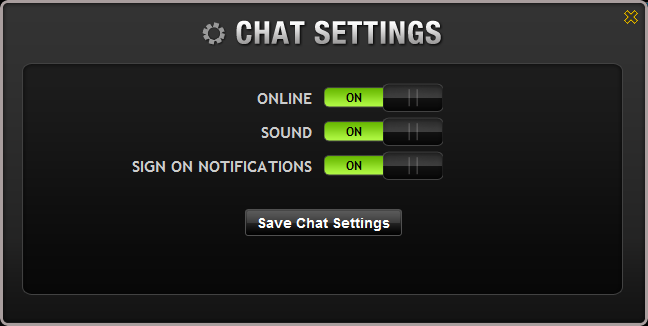 Family Chat Settings