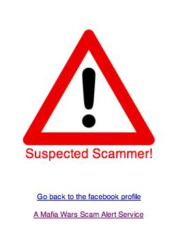 Suspectedscammer
