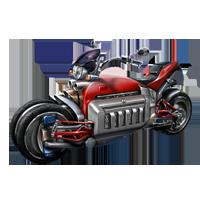 Huge item v-10motorcycle 01