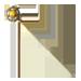 Standard 75x75 collect stickpin amber star