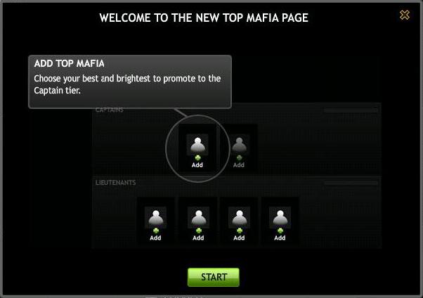 Top Mafia Welcome