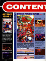 Nintendo Magazine System Issue 1 Contents 1