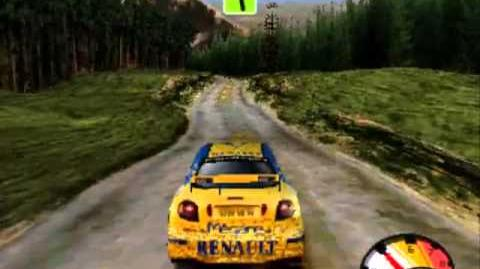 Mobil 1 Rally Championship - (PSX) Gameplay