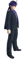 Aratanaru Sekai Sinbad in suit
