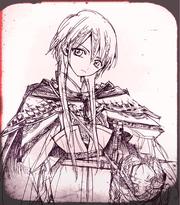 1Kouha wearing an armor