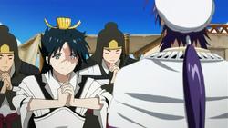 Ryuu arrives in Sindria
