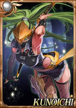 Kunoichi full card