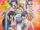 Magikano Ayumi, Maika, Tiaki, Fuyuno, Yuri and Marin