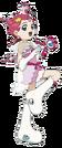 Cosmic Baton Girl Comet-san Comet Koi pose