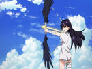 Vividred Operation Rei using her weapon9