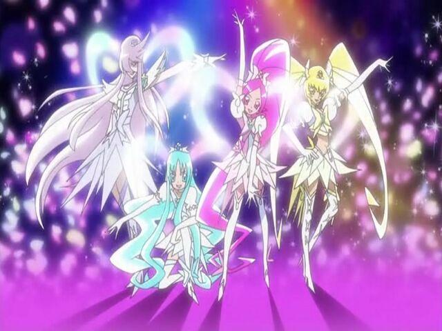 File:Heartcatch Pretty Cure! Heartcatch Super Silhouette tranformation pose.jpg