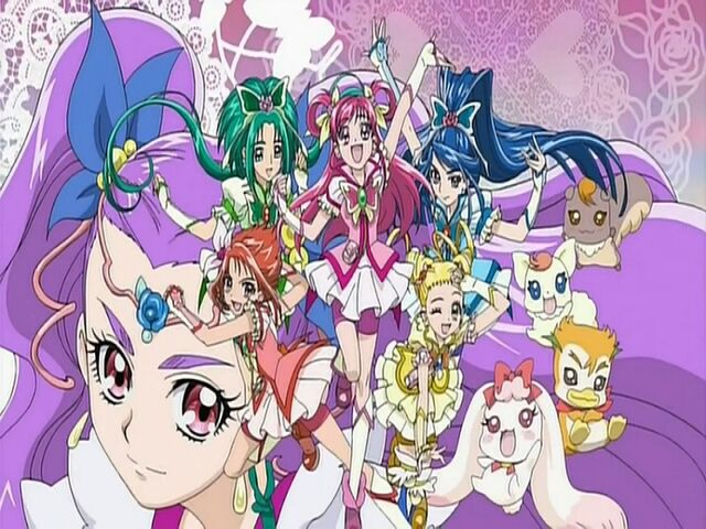 File:Yes! Pretty Cure 5 GoGo! Group in the Opening.jpg