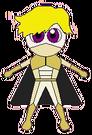 Magic Heart Prince Or pose