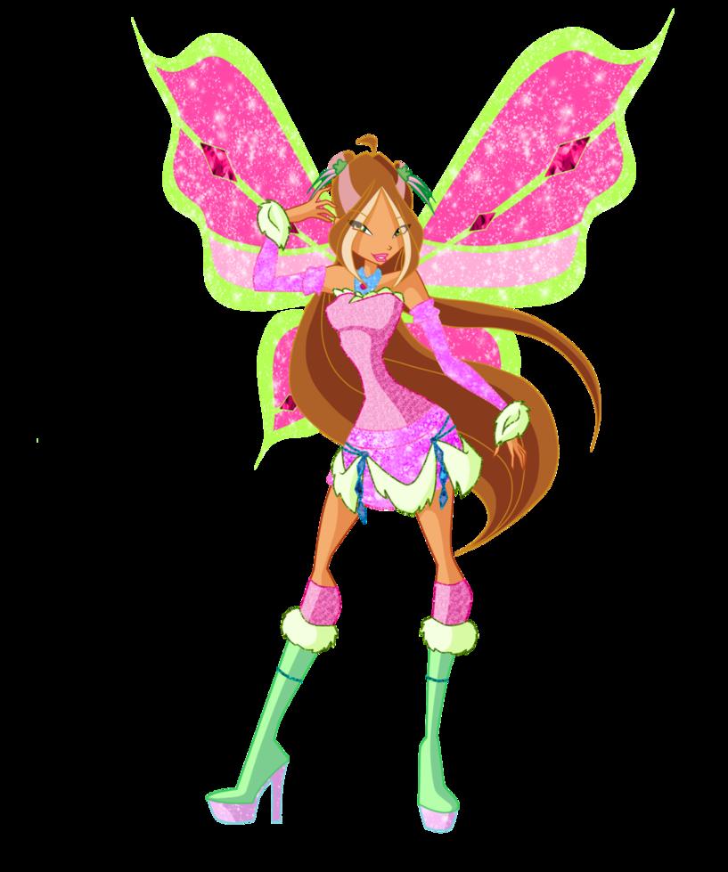 image   winx club flora lovix pose png magical girl
