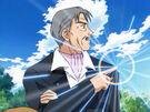 Ultra Maniac Nina's grandfather using his magic2
