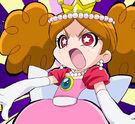 Powerpuff Girls Z Himeko about to transform (dress)