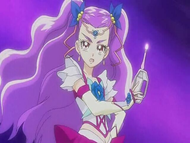 File:Yes! Pretty Cure 5 GoGo! Milky Rose with her Milky Palette.jpg
