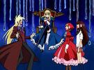 Ultra Maniac Nina, Maya, Ayu and Sebastian2