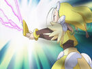 Sasami Mahou Shoujo Club Anri using her magic5