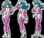 Star Jewel pink pose