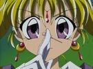 Kamikaze Kaitou Jeanne Kaitou Jeanne with her pin3