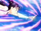 Futari wa Pretty Cure Splash Star Mai in her Cure Windy transformation