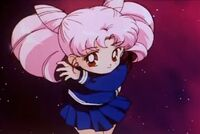 Sailor Moon R Chibiusa in the Opening
