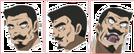 Moetan Os-san faces