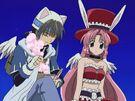 Full Moon wo Sagashite Takuto using his magic4