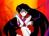 Sailor Moon R Sailor Mars in the Opening