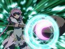 Magikano Maika using her magic4