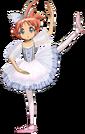 Princess Tutu ahiru ballerina pose