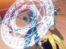 Mahou Shoujo Lyrical Nanoha Chrono using his magic5