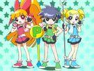 Powerpuff Girls Z in episode 2
