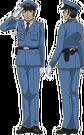 Moetan Officer pose