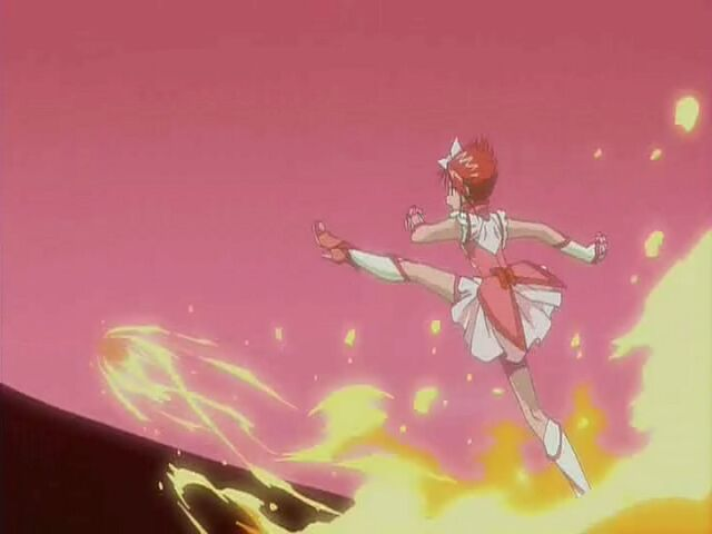 File:Yes! Pretty Cure 5 GoGo! Cure Rouge using the Fire Strike attack.jpg
